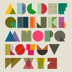 Tim Fishlock #tim #design #graphic #fish #lock #colors #alphabet #shapeset #typography