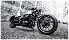 Yamaha XVS400 'Atlas'  Bandit9   Pipeburn   Purveyors of Classic Motorcycles, Cafe Racers & Custom motorbikes