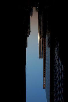 Creative Buildings Made of Sky by Peter Wegner