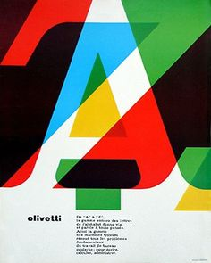 Merde! - Graphic design gorg: we love typography. a... #olivetti #design #graphic