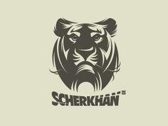 Dribbble - Logo Scherkhan by Gal Yuri