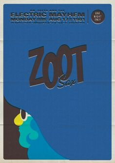 Retro Muppet Concert Posters | Michael De Pippo #post #illustration #muppets #poster