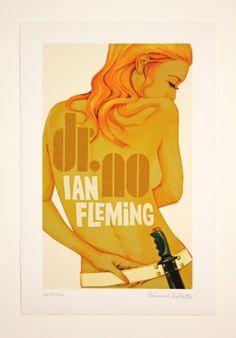 Awesome Robo!: 15 James Bond Pinup Prints By Michael Gillette #bond #james #poster #film #007