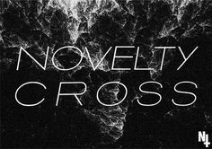Novelty Cross// #type #white #black