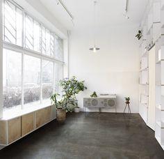 High ceiling retail space. Thisispaper flagship store. © Maja Wirkus. #highceiling #retail