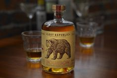 Lost Republic ~ Bourbon Label Design ~ Packaging ~ Auston Design Group