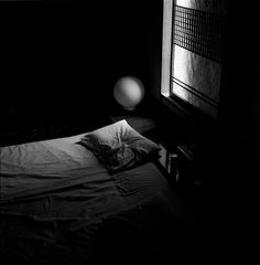kopfkissen | Flickr - Photo Sharing! #white #and #bedroom #black #pillow #photography #film
