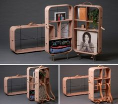 hanemaai: future travels - suitcase cabinet #suitcase #cabinet