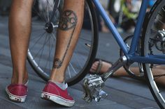 (4) bike chain | Tumblr #bicycle #tattoo #chain #bike