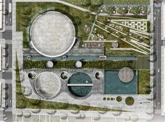 Articulated Site: Water reservoirs as public park (Medellin, Colombia)