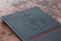 Art of the Menu: Red #menu #letterpress