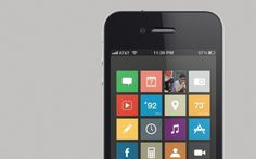 iOS with Windows Mobile Theme #iphone #interface