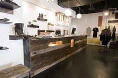 patrick davis design #interior #salvaged #reclaimed #design #retail #woo