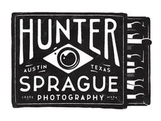 Dribbble - Hunter Sprague Photography logo by Simon Walker #type