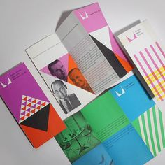 Herman Miller Brochures: Design by Irvin Harper Featuring George Nelson Charles Eames & Alexander Girard.