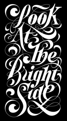 Typeverything.com - Look at the bright side by KGS Design. #type