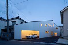 Roadside House by naf architect & design. #architecture #minimalist #nafarchitectanddesign