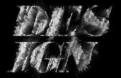 design work life » cataloging inspiration daily #white #design #black #explode #powder