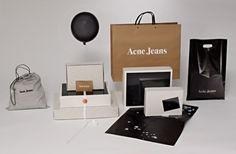 Creative: Acne Jeans Packaging | Por Homme - Men's Lifestyle, Fashion, Footwear and Culture Magazine #packaging #acne #branding