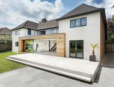 Modern Extension Reshaping a Confusing Home Layout in Winchester, UK Read more: http://freshome.com/#ixzz38KIJWhZC