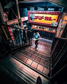 Stunning Night Photos of Tokyo's Streets by Hosokawa Ryohei