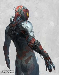 ArtStation - Oscorp's Spider Suit, Zulkarnaen Hasan Basri #spider-man #suit #oscorp