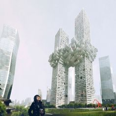 MVRDV: the cloud #cloud #the #skyscraper #architecture #mvrdv