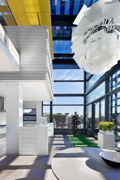Soho Penthouse Duplex in Jean Nouvel's iconic 40 Mercer Street Building 6