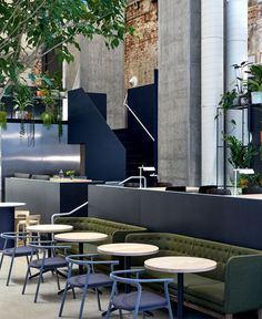 Melbourne Restaurant with Exposed Brickwork - #restaurant