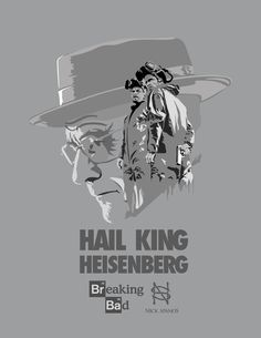 Breaking Bad Posters by Nick Spanos.