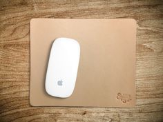 Mouse Pad Natural Veg Tan Leather Eighteen32 by Eighteen32 #apple #tan #mouse #eighteen32 #brand #natural #leather #magic #pad #veg