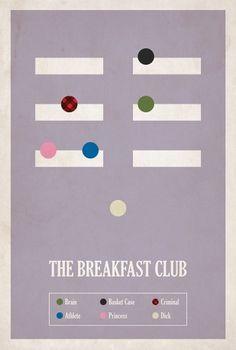 BrickHut #breakfast #infographics #school #brickhut #the #posters #minimal #movies #high #club