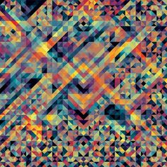 Geometric print by Andy Gilmore #design #geometry #pattern