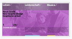 josef müller-brockmann : corey hall #interactive #corey #muller #hall #josef #brockmann