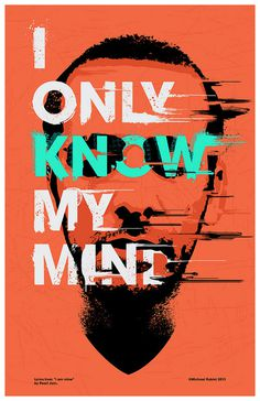 My Mind 02 | Flickr Photo Sharing! #halftone #type #screenprint #poster