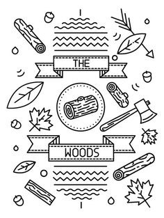 Little Burgundy Fall/ Winter 2012 Mag The Woods Issue on the Behance Network