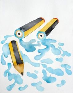 033009031206.jpg (490×624) #color #pencil #water