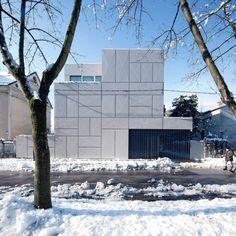 The Minimalist Villa in Ljubljana_1 #minimalistic