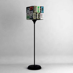 CJWHO ™ (The Most Hipsterest Lamp Ever! by OOO My Design) #lamp #cassette #design #hipster #light