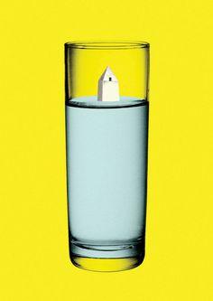 Balance 2013 del diseño en Argentina y en el continente americano #minimalistic #water #monument #argentina #glass #minimal #poster #full #buenos #half #aires #rompo