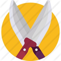 See more icon inspiration related to food and restaurant, miscellaneous, butcher, signaling, cutlery, knifes, cutting and cut on Flaticon.