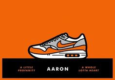 grain edit · Matt Stevens: Nike Air-Max-A-Day Illustrations #illustration #nike #shoe #tribute #air #max