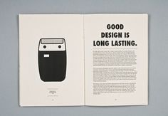 Dieter Rams by Daniel Bartha | Jared Erickson #iconography #design #principles #rams #dieter