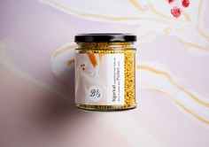 Bee One Third Packaging - Mindsparkle Mag Gangplank designed the packaging for Bee One Third – a beekeeping initiative founded on the premise that one third of our global food supply depends on bee pollination. #logo #packaging #identity #branding #design #color #photography #graphic #design #gallery #blog #project #mindsparkle #mag #beautiful #portfolio #designer
