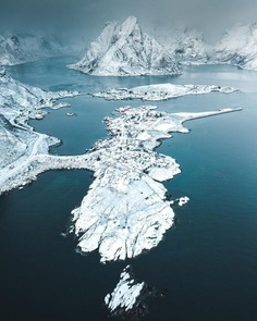 Lofoten From Above: Drone Photography by Petter Aamodt