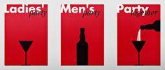 david barath - typo/graphic posters #david barath #party