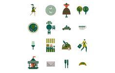 Eurostar / Lotta Nieminen #icon #texture #picto #illustration #symbol