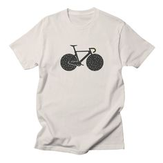 Track Bike by Rickard Arvius #bicycle #bike #trackbike #fixie #fixedgear #rickardarvius #fashion #tshirt #apparel #threadless #streetwear