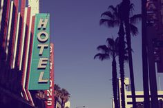 Las Vegas #las #palm #photography #signs #hotel #vegas #trees