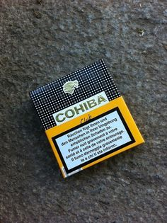Packaging Design M #cigars #cuba #cohiba